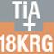 チタンアルミナイド+18Kレッドゴールドケース