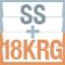 SS+18Kレッドゴールドブレスレット