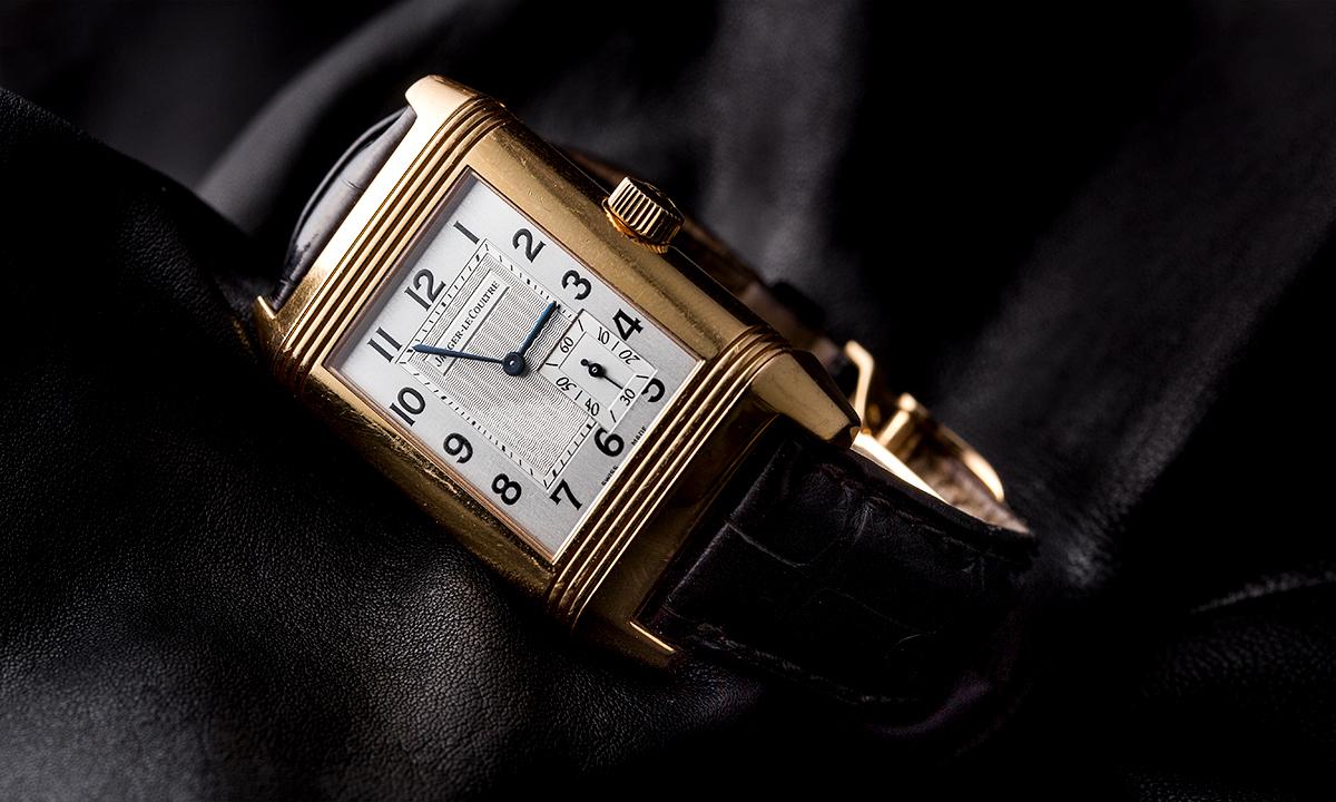 中竹氏が「オフィシャルな場で着けることが多い」と語るジャガー・ルクルトの腕時計