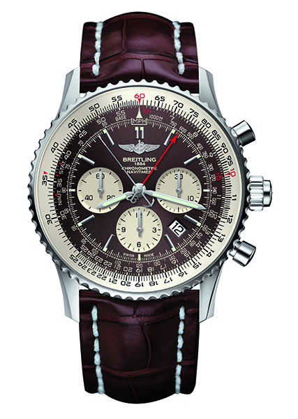 Navitimer Rattrapante steel