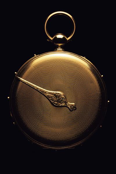 ↑ジャン=フランソワ・ボットの工房で作られた1837年製ポケットウオッチ