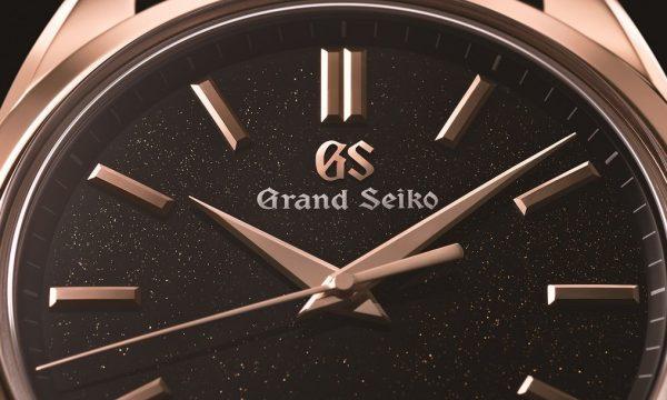 ブラック&PGがシャープな美を演出!グランドセイコーが8日間巻きスプリングドライブの新色を発表