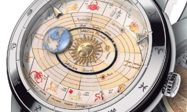 【2017新作ウオッチ】ヴァシュロン・コンスタンタンの芸術的な天文時計