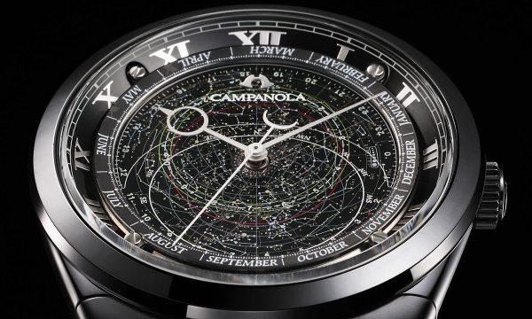 漆黒の文字盤に満点の星が煌めく――「カンパノラ」世界限定モデルに込めたロマン