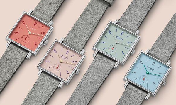 ドイツを代表する時計ブランドNOMOSがカラフル & 華やかな「Tetra Petit Four(テトラ プチ フォー)」発売。6月20日~5店舗限定でフェアも開催!