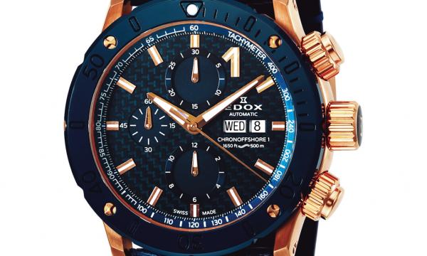 """【腕時計ブランドの教科書 EDOX】古代ギリシャ語で""""時間""""を意味する言葉。力強さと上品さが同居する優美なデザインが持ち味(エドックス)"""