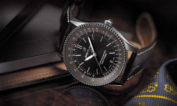 3針で小ぶりでも、計器感たっぷり! 航空時計の名門が生み出した「ブライトリング ナビタイマー 1 オートマチック 38」