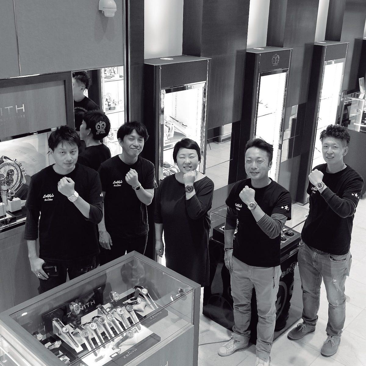 811aab0938 並々ならぬ思いで高崎の地に腕時計を広めた結果、お客がお客を呼ぶような賑やかさを見せるまでに成長した同店。