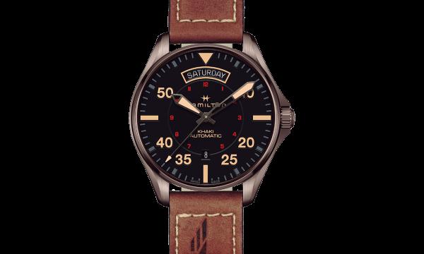 【ハミルトン 新作時計2018】米国初の定期航空便の公式時計にハミルトンの時計が採用されてから100周年。節目の年を記念して、多彩なカーキを発表(HAMILTON バーゼルワールド2018)
