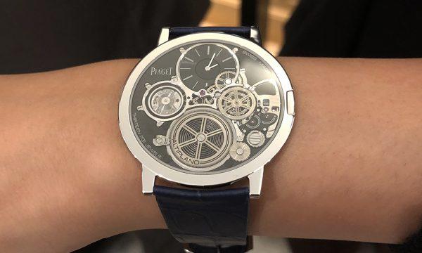 【全エンジニア悶絶!】スイス伝統の時計製造技術の粋を集めたピアジェの世界最薄(厚さ2mm!)機械式ウオッチは羽根のような着け心地だった