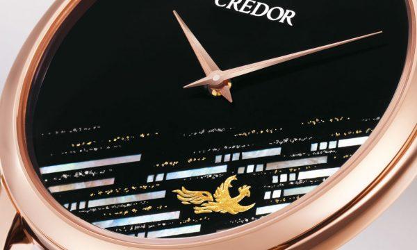 """鳳凰の姿を漆で描くクレドール「キャリバー6870」25周年記念限定モデルは""""飛翔""""がテーマ(SEIKO)"""