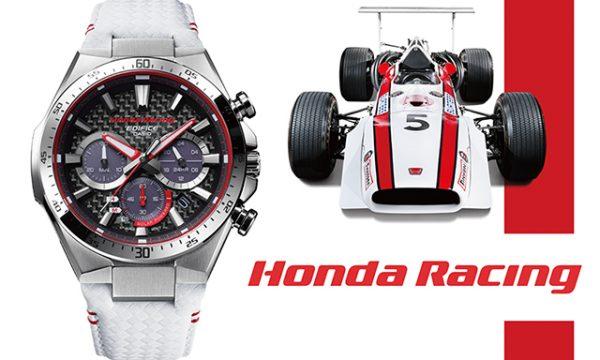 EDIFICEからHonda Racingとのコラボウオッチや電波ソーラーシリーズが続々登場!