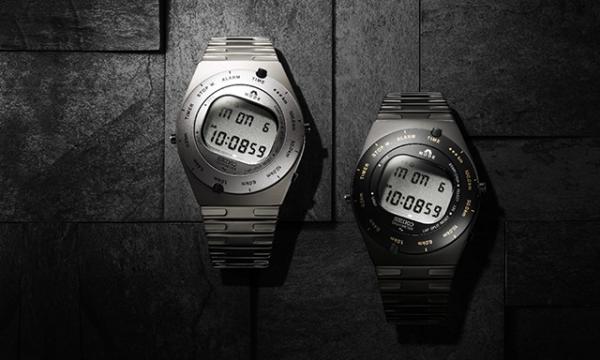 """""""ドライバーのための腕時計""""として、一世を風靡したデジタルウオッチをリメイク! セイコー×ジウジアーロ・デザインによるコラボウオッチ"""