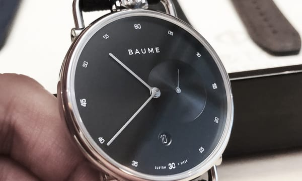 6万円代から購入可能! 世界3大ラグジュアリーグループ傘下の新ブランド「BAUME」の腕時計を徹底チェック!!