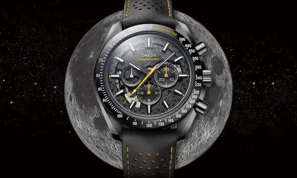 人類初の月旅行から50周年を記念した「スピードマスター ダーク サイド オブ ザ ムーン アポロ 8 号」が発売開始!