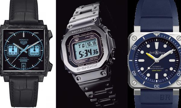 新作・角型モデル部門! 2018年のベスト5はどれだ!?――腕時計最強ランキング2018