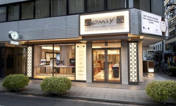 ブランドの幅が豊富で、比較検討しやすい「oomiya 大阪心斎橋店」