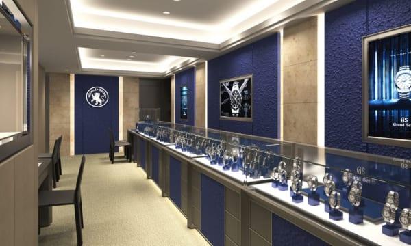 日本初となるグランドセイコー専門店が創業の地・銀座にオープン!「グランドセイコーブティック 銀座」