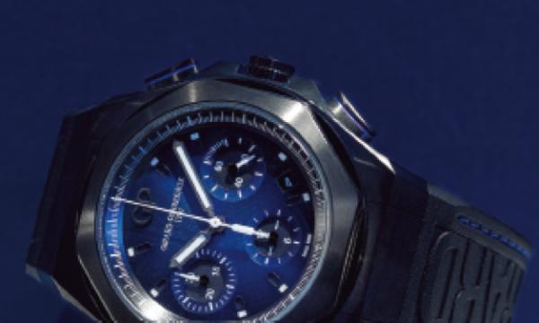 【SIHH2019新作 ジラール・ペルゴ】ブルー×ブラックの新作のテーマは「アース to スカイ」(GIRARD-PERREGAUX)