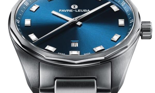 1950年代のモデルが原点! 力強いデザインを継承した 「スカイチーフデイトブルー」――ファーブル・ルーバの新作