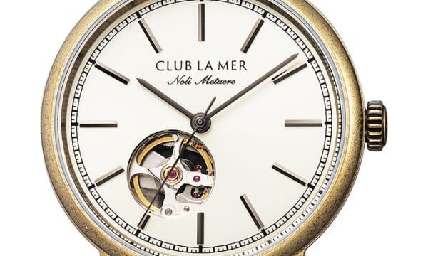 3万円代で機械式時計が手に入る!「クラブ・ラ・メール」の35周年記念モデル