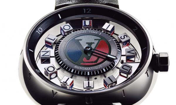 ルイ・ヴィトンが時計にかけた魔法!「タンブール オトマティック スピン・タイム エアー ブルー」