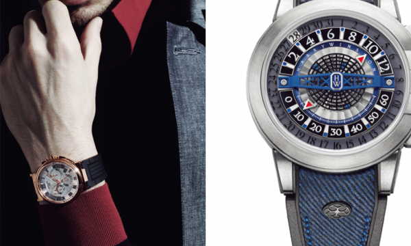 """男らしさを象徴する""""ラグ充""""な時計とコート――ブレゲ、ハリー・ウィンストン"""