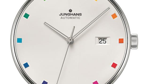 カラフルな時間を刻む1本――ユンハンス「バウハウス創設 100 周年記念 フォーム A」