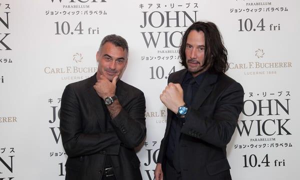 キアヌ・リーブス主演の人気映画『ジョン・ウィック』の続編にスイス製高級時計が登場