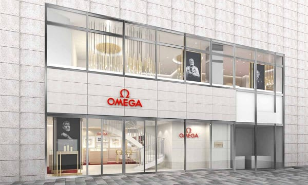 関東最大の規模を誇る、都内初のオメガ直営路面店「オメガブティック六本木ヒルズ」