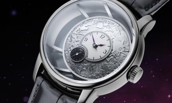 時計=芸術品を教えてくれる、月へのオマージュを込めたハンドメイドのジャーマンウオッチ