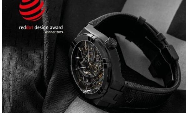 国際的なプロダクトデザイン賞を受賞したスイス製スケルトンウオッチが11月リリース