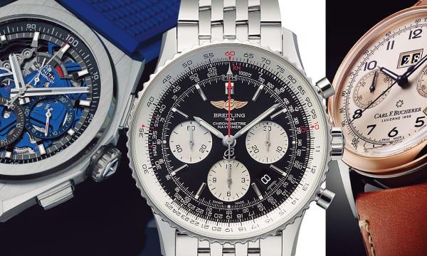 ウオッチナビが選んだ腕時計の進化を体現するクロノグラフ20選――ゼニス、ブライトリング、カール F.ブヘラ編