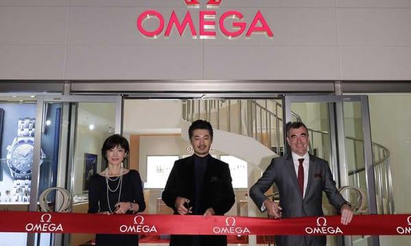 俳優・平山浩之さんも駆けつけたオメガブティック六本木ヒルズの開店に見る、OMEGAの攻勢