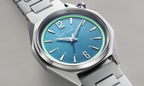 ポース・スミスの新作時計は、美しい直線で構成された八角形の「オクタゴン」