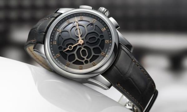 """スイスの老舗時計ブランドとフランスの最高級音響メーカーによる、""""音""""にこだわった合作時計"""