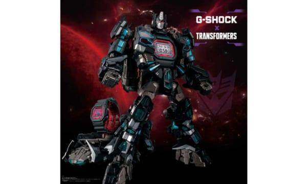 G-SHOCK×トランスフォーマーのコラボ第2弾は、悪の戦士がトランスフォーム!!