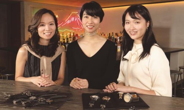 【美女3人が本音トーク】私ならこんな時計を着けてほしい♡