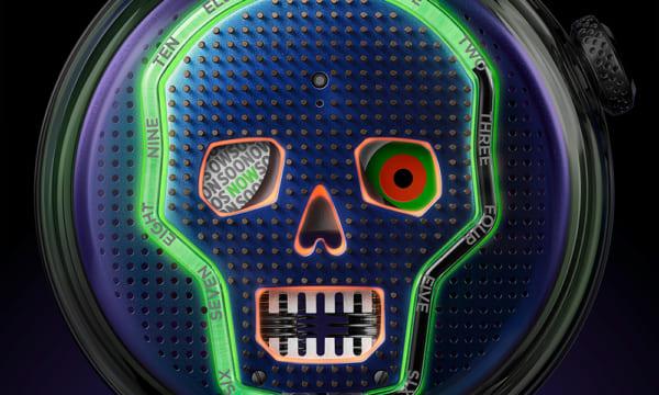 腕時計なのに水時計!? コンテンポラリーアートウオッチ「HYT」のメカニズムの全貌をあらわにした新作「H5」